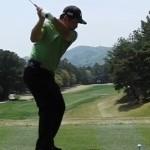 増田伸洋プロの横振りでヘッドを大きく使って飛距離アップ